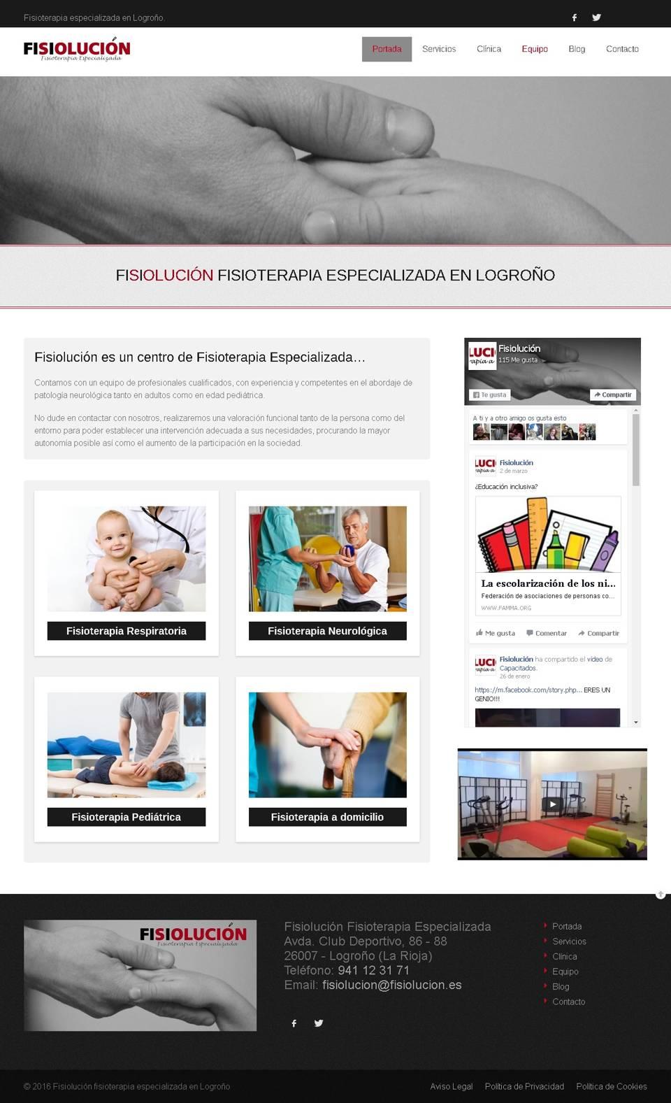 Web Fisiolución